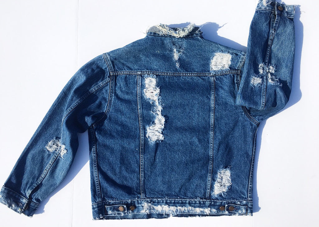 Letterman Denim Jacket