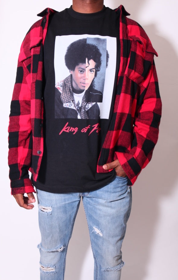 King of Pop Tee Short Sleeve (2 colors)
