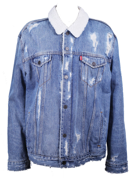 Sherpa Distressed Jacket