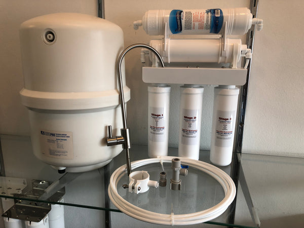 Compact Reverse Osmosis HIGH ALKALINE - Large Tank