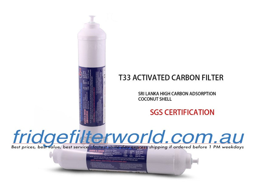 External In-Line Fridge Filter