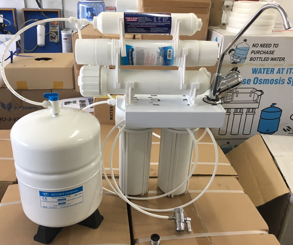 Portable Reverse Osmosis With Storage & Alkaliser