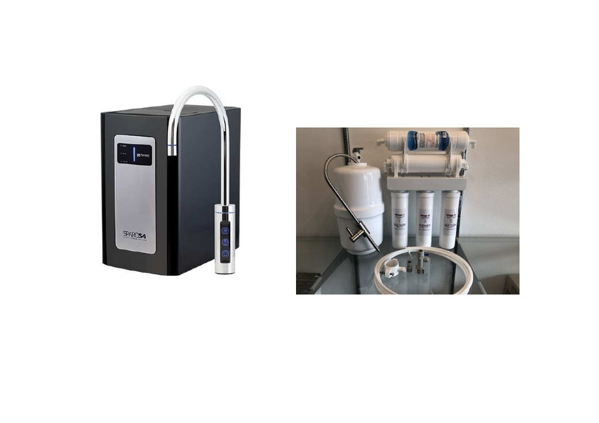 Filtered Sparkling, Chilled & Ambient Water + Reverse Osmosis High Alkaline