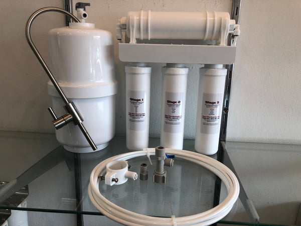 Compact Reverse Osmosis LOW ALKALINE - Mini Tank