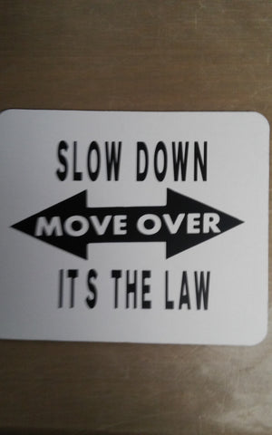 Slow down move over mouse pad