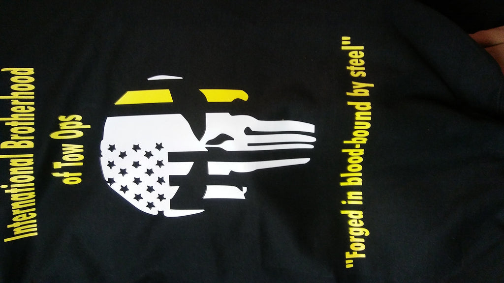 IBTO punisher t-shirt