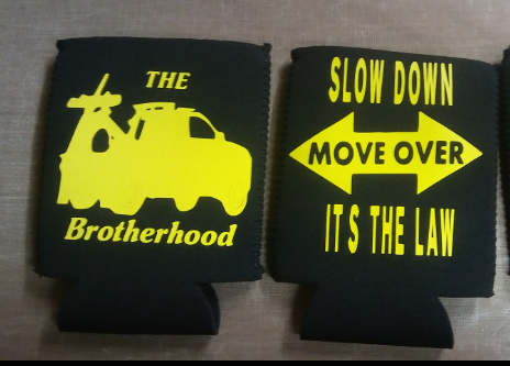 Tow op coozies