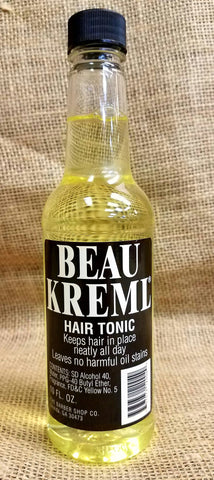 Beau Kreme Hair Tonic