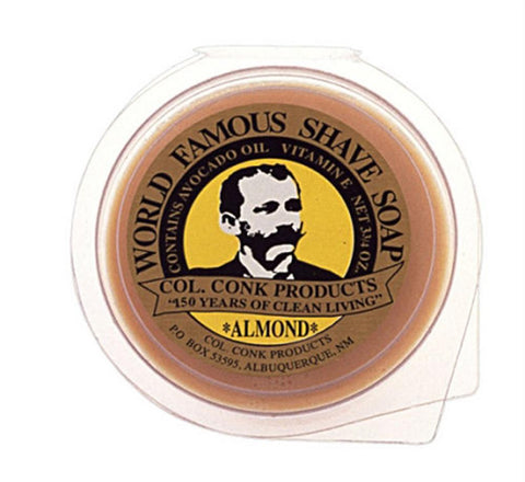 Almond Soap- Col Conk Large