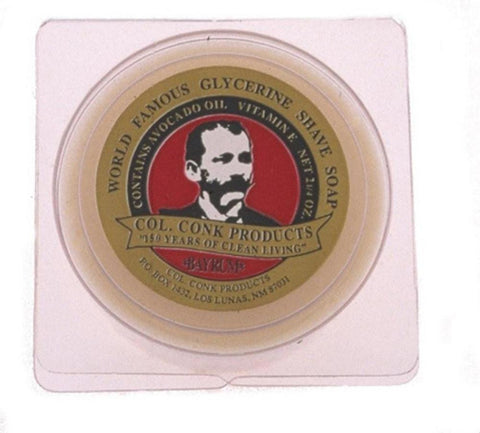 Bay Rum Soap Puck - Col Conk