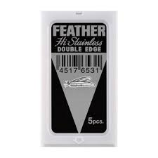 Feather New Hi-Stainless Platinum coated blades