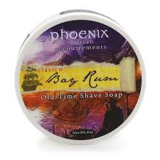 PAA Bay Rum Shave Soap