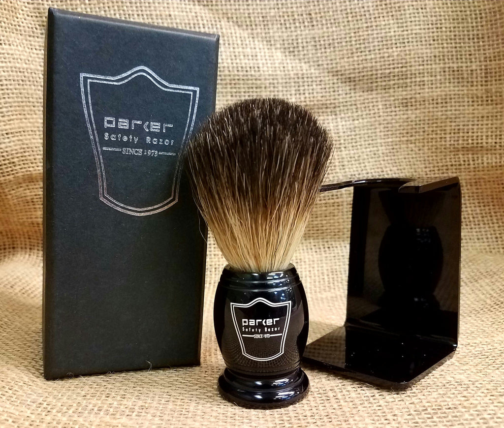 Parker Black Brush w/Stand