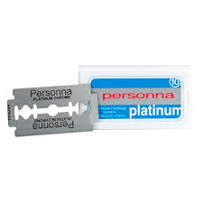 Personna Platinum Chrome Double Edge Razor Blades