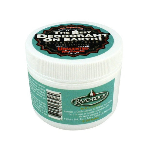 RazoRock Best Deodorant Ever- Unscented