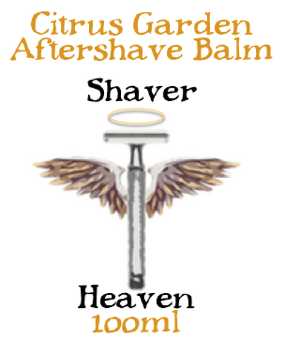 Citrus Garden Aftershave Balm- Shaver Heaven