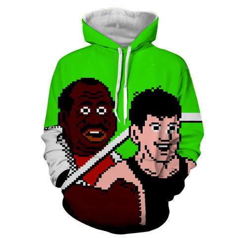 Little Mac & Doc Louis Punch-Out Hoodie - Gamer Treasures