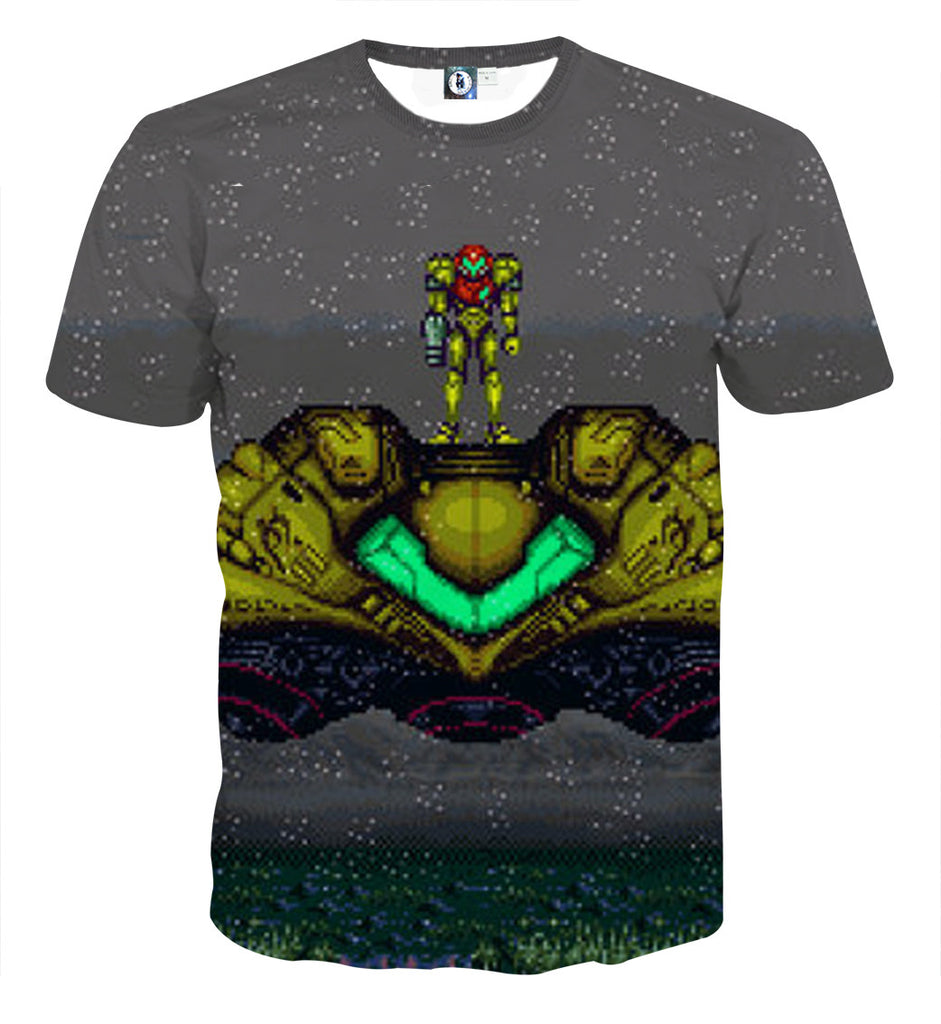 Super Metroid T-shirt - Gamer Treasures