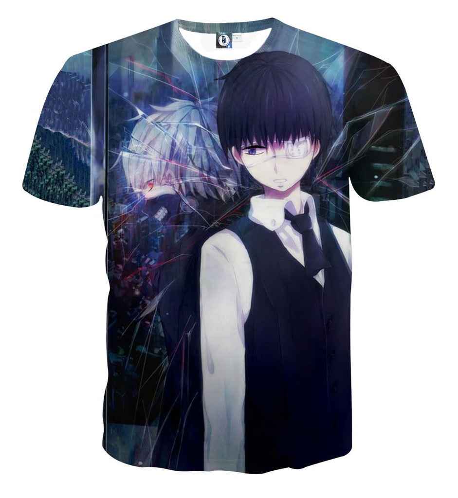 Kaneki's Nature T-shirt - Gamer Treasures