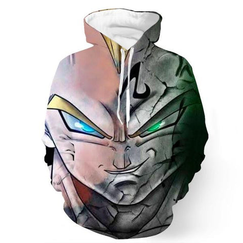 Super Saiyan Majin Vegeta Dragon Ball Hoodie - Gamer Treasures