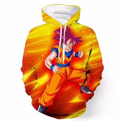 Super Saiyan God Son Goku Dragon Ball Hoodie