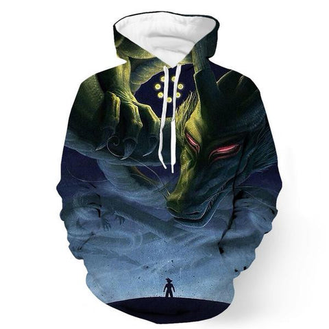 Shen Long Summoned Dragon Ball Hoodie - Gamer Treasures