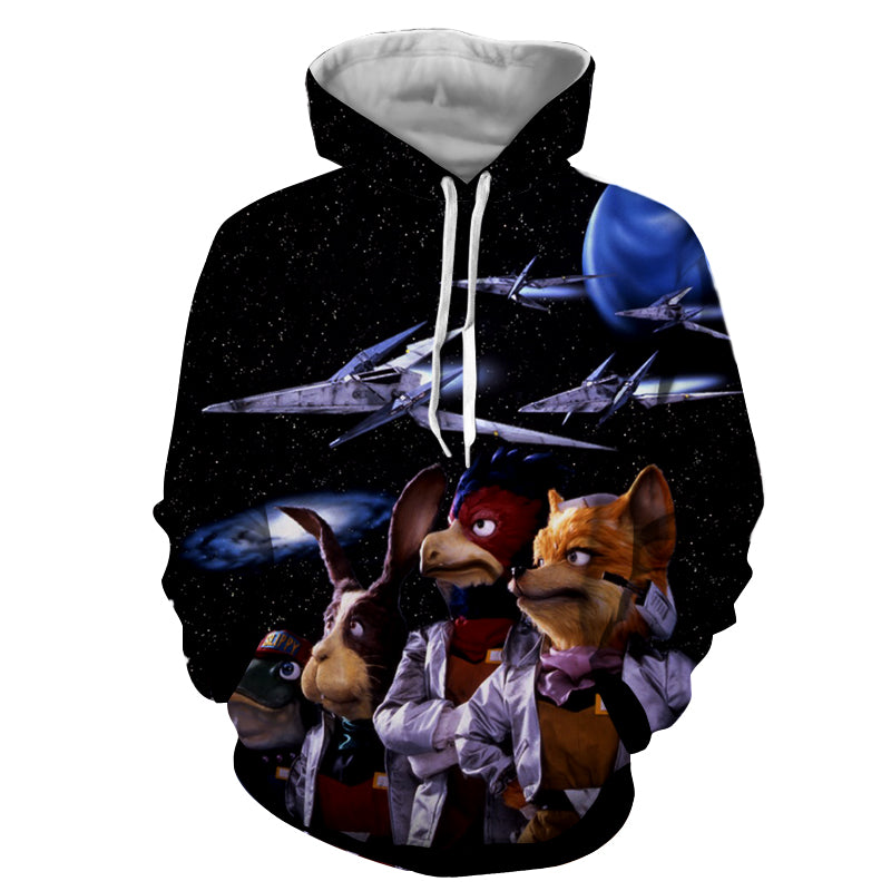 Star Fox Hoodie - Gamer Treasures
