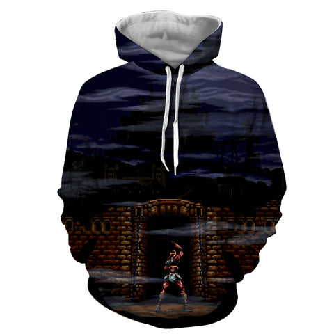 Super Castlevania IV Hoodie - Gamer Treasures