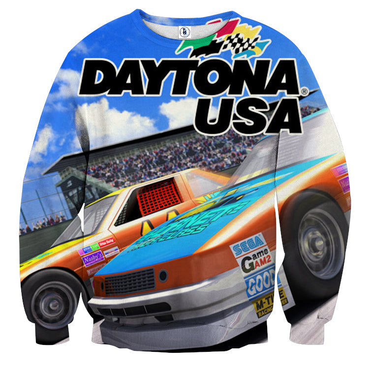 Daytona USA Sweatshirt - Gamer Treasures