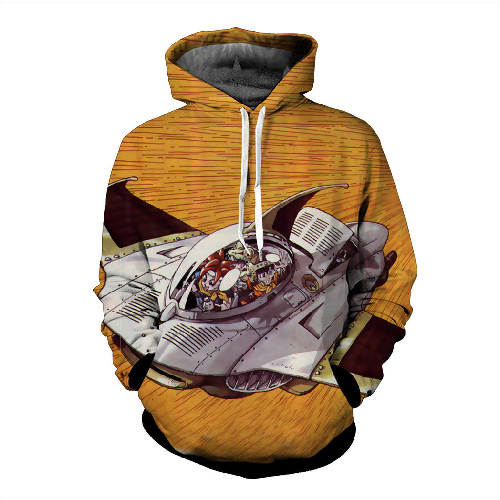 Chrono Trigger Epoch 3D Hoodie - Gamer Treasures