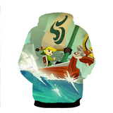 The Legend Of Zelda: The Wind Waker 3D Hoodie