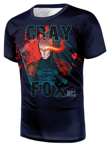 Gray Fox Metal Gear Solid T-shirt - Gamer Treasures