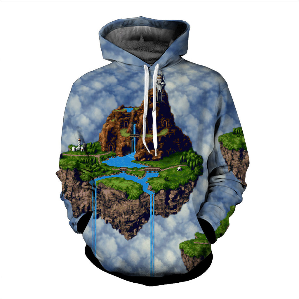 The Magical Kingdom of Zeal Chrono Trigger Hoodie - Gamer Treasures