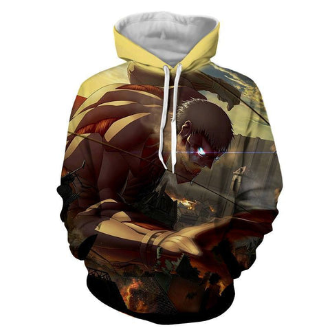 Armored Titan Hoodie - Gamer Treasures