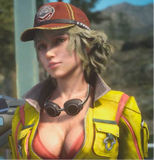Final Fantasy XV Hammerhead Full Service Station Cindy Aurum Cap - Gamer Treasures