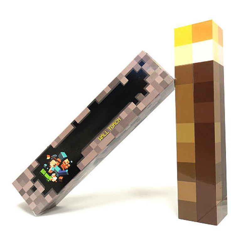 Minecraft LED Wall Torch - Gamer Treasures