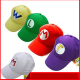 Super Mario Bros Adjustable Baseball Cap - Gamer Treasures