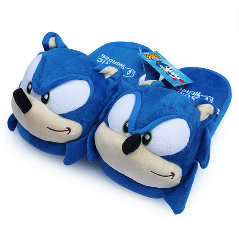 Sonic the Hedgehog Plush Slippers