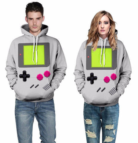 Game Boy Hoodie - Gamer Treasures