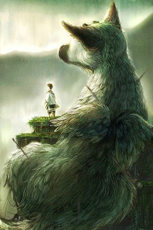 The Last Guardian Canvas Poster - Gamer Treasures