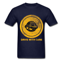Drive With Care T-shirt - Gamer Treasures
