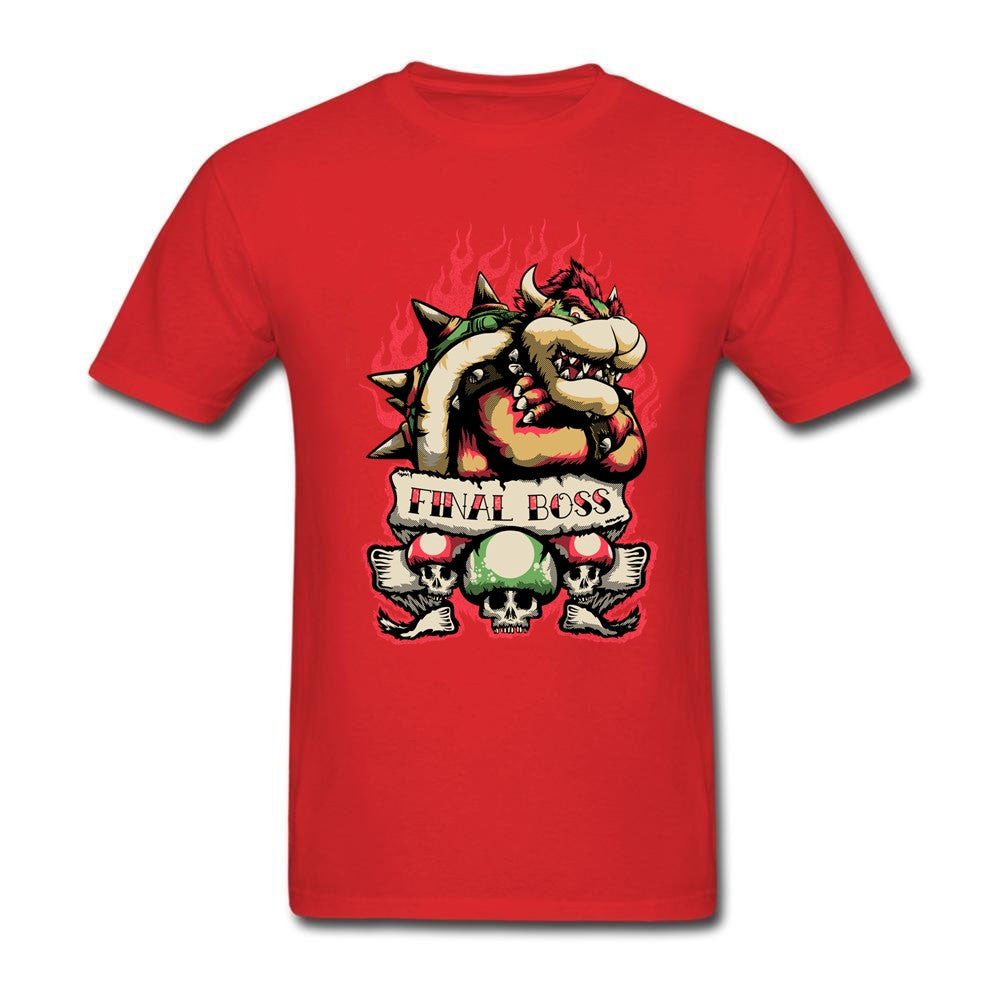 Final Boss Bowser T-shirt - Gamer Treasures