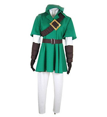 Link The Legend of Zelda Cosplay Costume