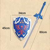 The Legend of Zelda Skyward Sword Master Sword / Hylian Shield Replica