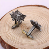 The Witcher 3: Wild Hunt Wolf Head Cufflinks