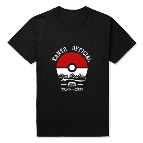 Kanto Official Pokemon Gym Leader T-shirt - Gamer Treasures