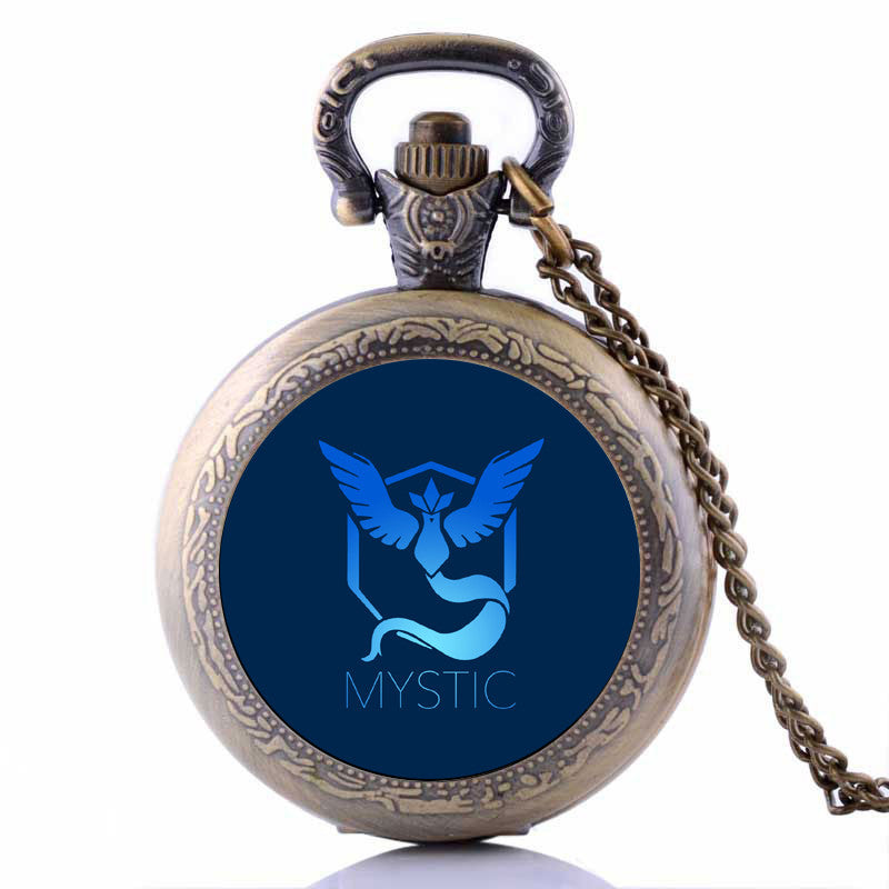 Pokemon Go Team Pocket Watch (Mystic/Valor/Instinct) - Gamer Treasures