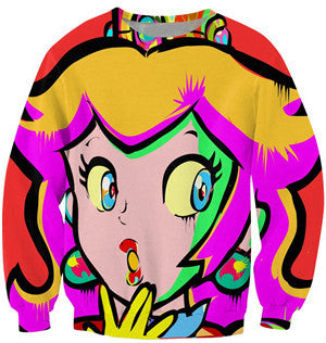 Princess Peach Sweater - Gamer Treasures