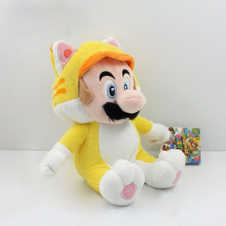 Cat Suit Mario 18cm/7 inches - Gamer Treasures