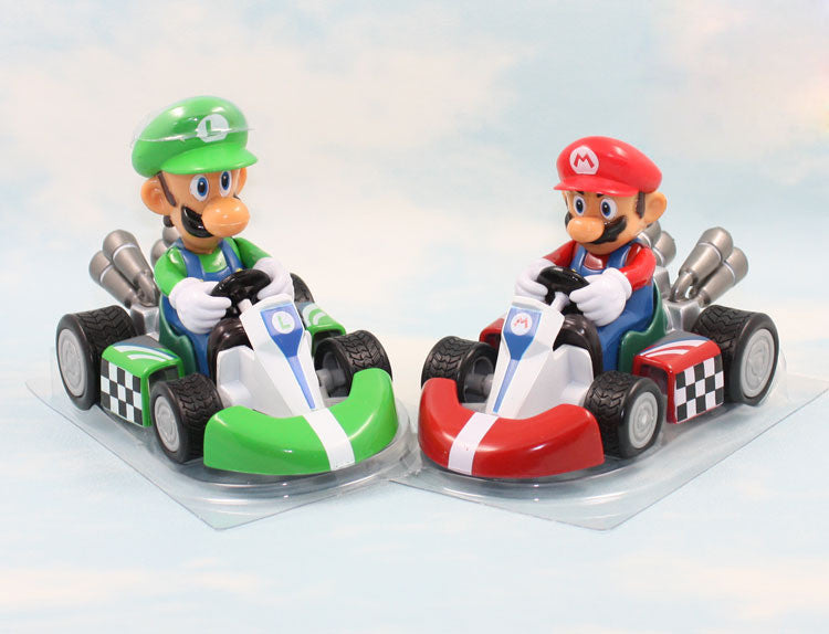 Super Mario Kart Pull Back Cars 10cm/4 inches
